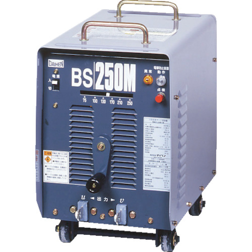 ダイヘン溶接メカトロシステム ダイヘン 電防内蔵交流アーク溶接機 250アンペア60Hz BS-250M-60