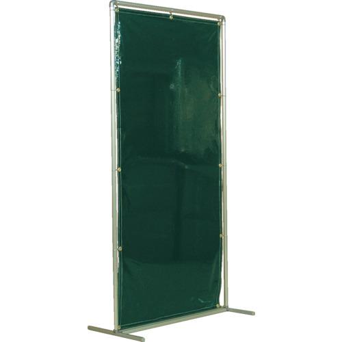 吉野 吉野 遮光フェンスアルミパイプ 1×2 単体固定 ダークグリーン YS-12SF-DG