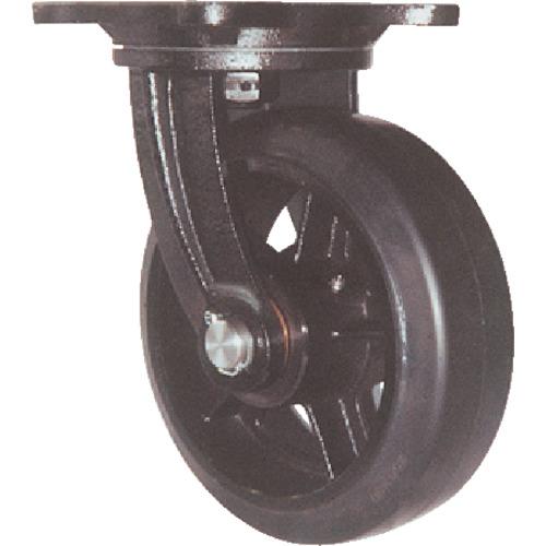 ヨドノ ヨドノ 鋳物重量用キャスター 許容荷重882 取付穴径16mm  MHA-MG300X100