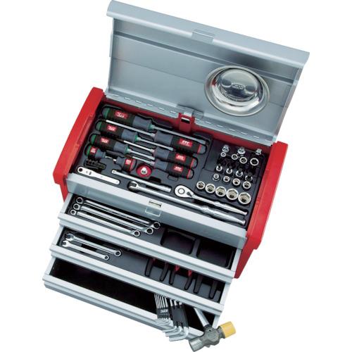京都機械工具 KTC 9.5sq.工具セット(チェストケース) SK3650E