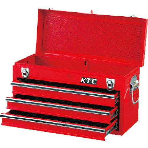 京都機械工具 KTC チェスト(3段3引出し)ソリッドレッド SKX0213 SKX0213