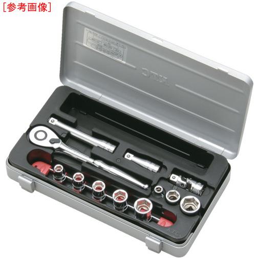京都機械工具 KTC 9.5sq.ソケットレンチセット[26点] TB318