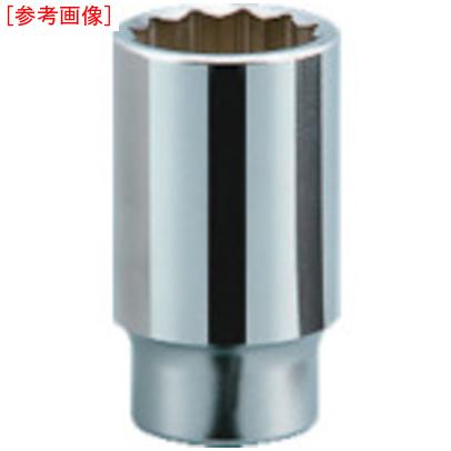 京都機械工具 KTC 19.0sq.ディープソケット(十二角) 56mm B45-56 B45-56
