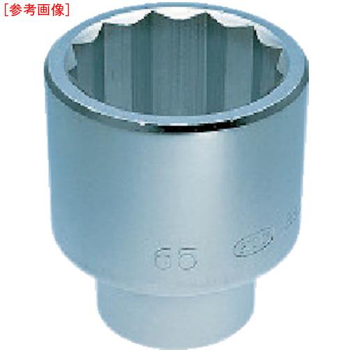 京都機械工具 KTC 25.4sq.ソケット(十二角) 83mm B50-83