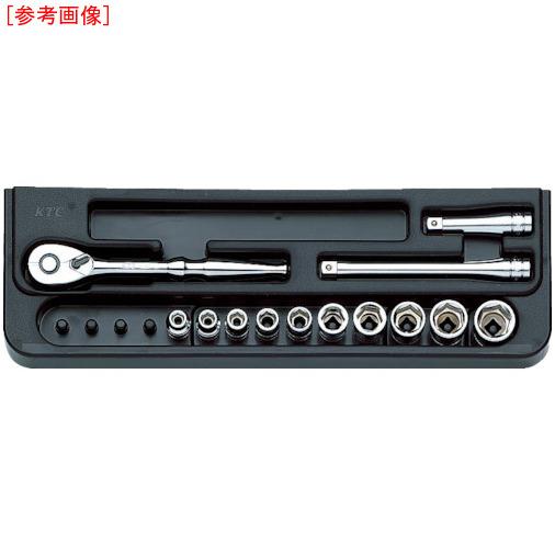 京都機械工具 KTC 6.3sq.ソケットレンチセット[17点] TB214 TB214