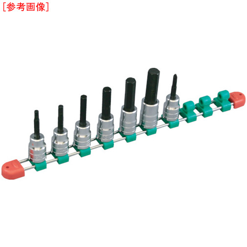 京都機械工具 KTC 12.7sq.ヘキサゴンビットソケットセット[10コ組] TBT410H TBT410H