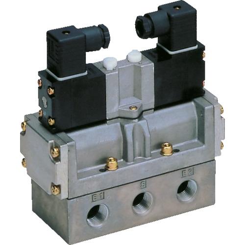 CKD CKD 4Fシリーズパイロット式5ポート弁セレックスバルブ 10C[dm[[の3乗]]/(S・bar)]/音速コンダクタンス 4F520-15-AC100V