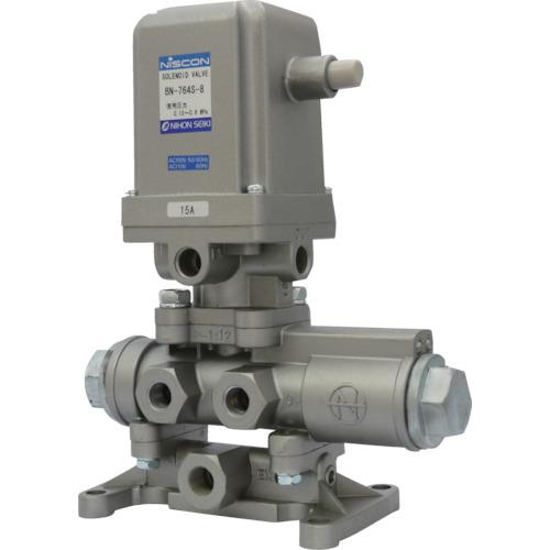 日本精器 日本精器 4方向電磁弁8AAC100V76シリーズ BN-764S-8-E100 BN-764S-8-E100