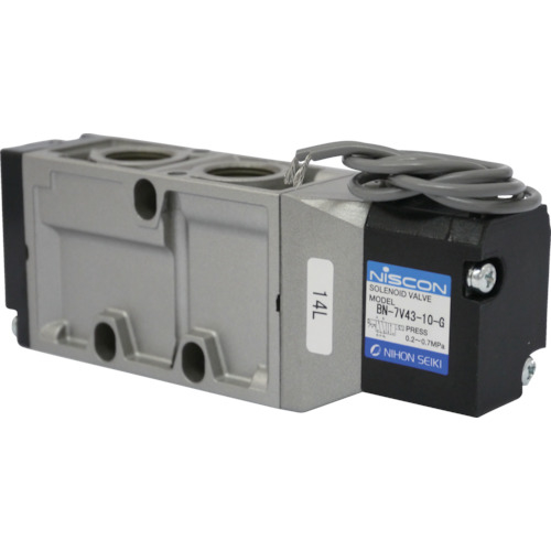 日本精器 日本精器 4方向電磁弁10AAC100Vグロメット7Vシリーズシングル BN-7V43-10-G-E100 BN7V4310GE100
