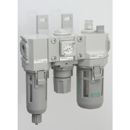 CKD CKD モジュラータイプセレックスFRL 2000シリーズ C2000-10-W C2000-10-W
