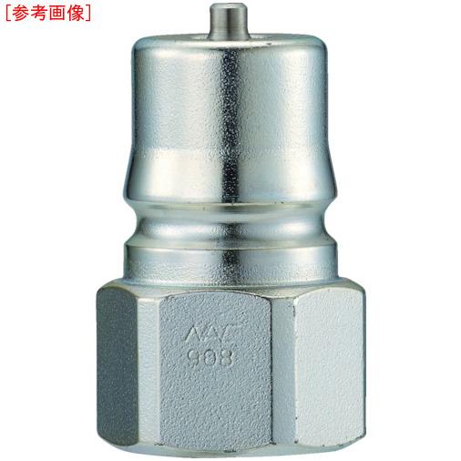 長堀工業 ナック クイックカップリング HP型 特殊鋼製 高圧タイプ オネジ取付用 CHP10P CHP10P