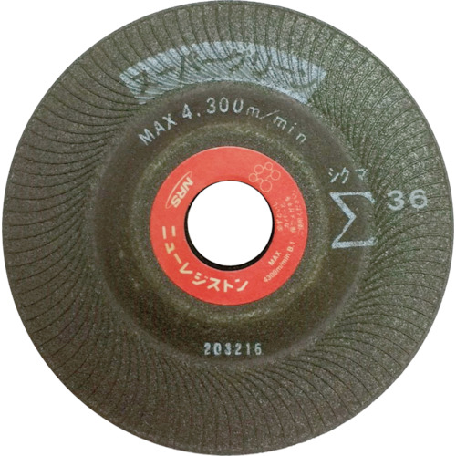 ニューレジストン 【25個セット】NRS スーパーグリーンシグマ 125×5×22 #36 NRSSIGMA125-36