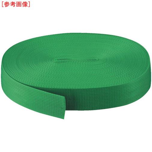 トラスコ中山 TRUSCO PPベルト50mm×50m 緑 PPB-5050 PPB-5050-GR
