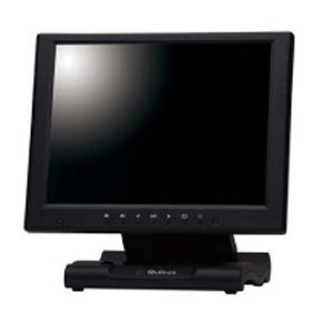 クイックサン 10.4インチXGA液晶ディスプレイ 保護フィルタ搭載タイプ ブラック QT-1007B(AVG)