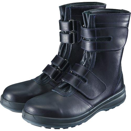 シモン シモン 安全靴 マジック式 8538黒 24.0cm 8538N-24.0 8538N-24.0