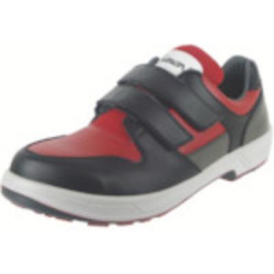シモン シモン安全靴 トリセオシリーズ 短靴 赤/黒 25.0 8518RED/BK-25.0 8518RED/BK-25.0