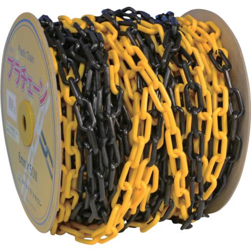 ミツギロン工業 ミツギロン プラチェーン 6mm 黄黒トラ PC-YB6