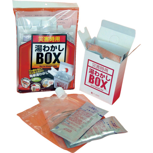 【送料無料】 トラスコ中山 トライ 湯わかしBOX基本セット tr-3283704