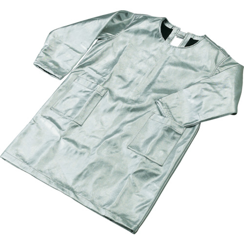 トラスコ中山 TRUSCO スーパープラチナ遮熱作業服 エプロン LLサイズ TSP-3LL