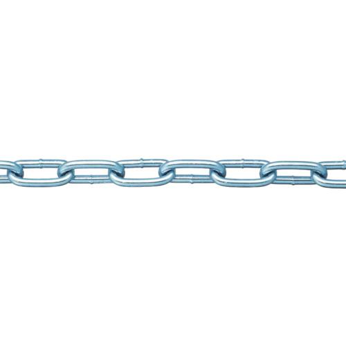 ニッサチェイン ニッサチェイン 鉄ユニクロ溶接リンクチェイン 4.8mm×30m IW2048 IW2048