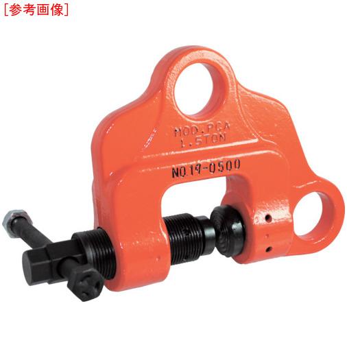 日本クランプ 日本クランプ ねじ式万能型クランプ0.75 PCA-075