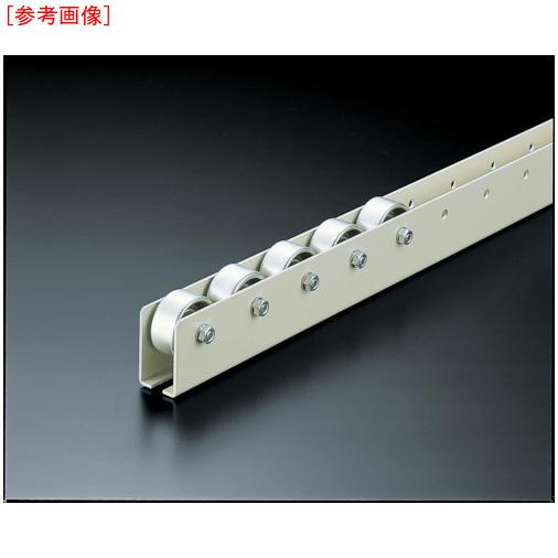 トラスコ中山 TRUSCO ホイールコンベヤ プレス製Φ40X20 P50XL3000 V-40T-50-3000