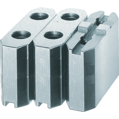 トラスコ中山 TRUSCO 生爪ソール用 標準型 チャック9インチ H60mm MSE-9-60 (MSE960) MSE-9-60