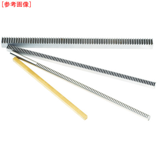 協育歯車工業 KG ラック 全長505~508mm 有効歯数198 歯幅7mm RK80SU5-0710