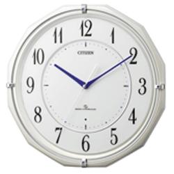 リズム時計 スリーウェイブM822(白パール) 4MY822-003