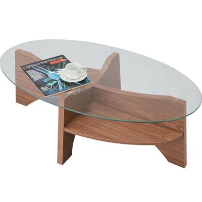 東谷(あづまや) オーバルテーブル LE-454WAL