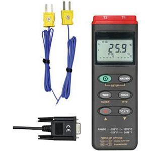マザーツール デジタルデータロガ温度計(2点式) MT-306