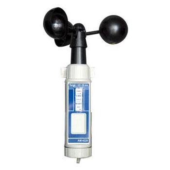 マザーツール デジタルハンディ風杯式風速計 AM-4220
