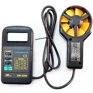 マザーツール デジタル風速計 AM-4200