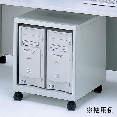 ナカバヤシ CPUラック/グレー/W500 (CPU101N) CPU-101N【納期目安:1週間】