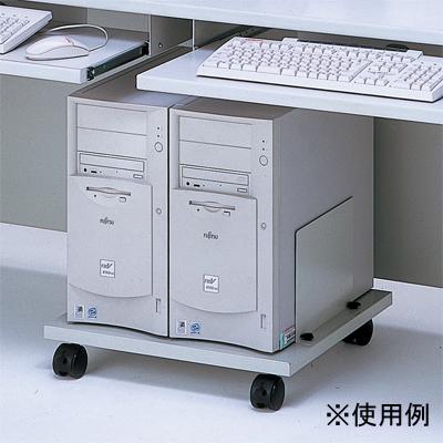 ナカバヤシ CPUラック/グレー/タワー型 (CPU301N) CPU-301N【納期目安:1週間】