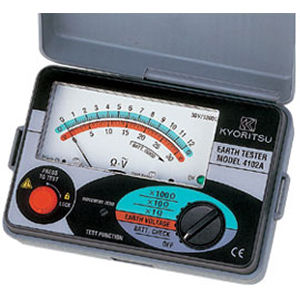 共立電気計器 4102A-H アナログ接地抵抗計 ハードケース付 4560187060434