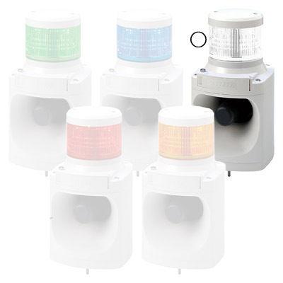 パトライト LED積層信号灯付電子音報知器 LKEH-110FE-C【納期目安:1週間】