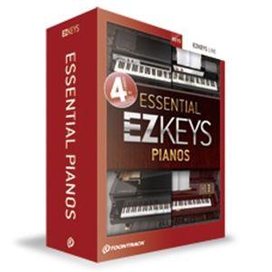 クリプトン・フューチャー・メディア EZ KEYS - ESSENTIAL PIANOS ピアノ音源「EZKEYSシリーズ」3タイトルのバンドル EZKEP【納期目安:1週間】