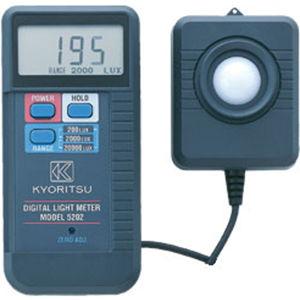 共立電気計器 デジタル照度計 5202 4560187060489