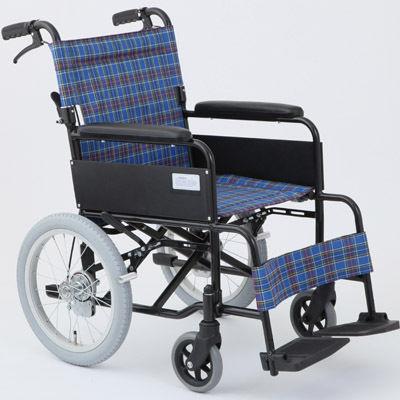 MIWA MW-16A 車椅子 ターコイズブルー OTM-19211