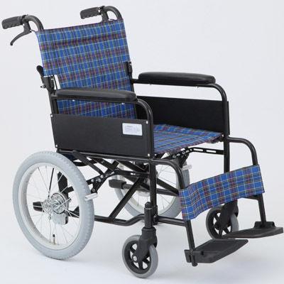 MIWA MW-16A N(ノーパンク仕様) 車椅子 ターコイズブルー OTM-19213