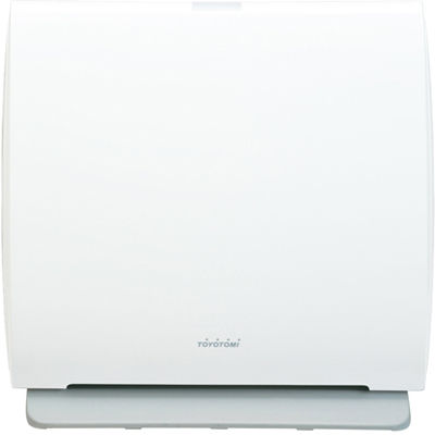 トヨトミ スマートな暮らしに調和する、シンプルデザインの空気清浄機(ブリリアントホワイト) AC-V20D-W