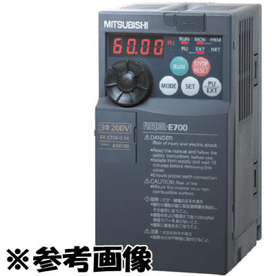 三菱電機 簡単・パワフル小形インバータ FREQROL-E700シリーズ 三相400V FR-E740-1.5K FR-E740-1.5K