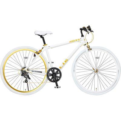 LIG LIG MOVE クロスバイク ホワイト OTM-19247