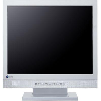 EIZO <DuraVision>17インチ スクエア タッチパネル 液晶ディスプレイ(1280x1024/D-Sub15Pin/DVI/スピーカー/LED/グレア/TNパネル/超音波表面弾性波/セレーングレイ) FDS1721T-GY
