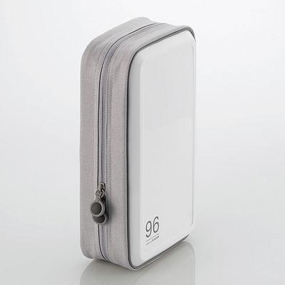 送料無料 エレコム CD DVDケース セミハード 96枚入 マート ホワイド 信頼 CCD-H96WH ファスナー付