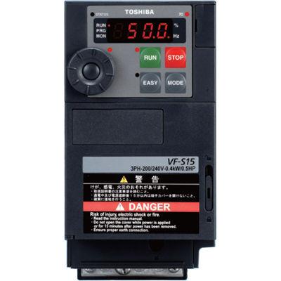 安い割引 東芝 VF-S15 TOSVERT 多機能・小形インバータ VFS15-2075PM:爆安!家電のでん太郎-DIY・工具