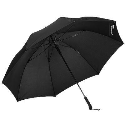 アンブレイカブル The Unbreakable(アンブレイカブル) 長傘 ジャンプ傘 Standard Walking-Stick Umbrella Straight Handle Black AA-22748