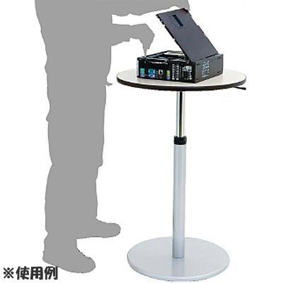山金工業 ヤマテック ワークテーブル回転天板昇降タイプ 【個人宅宛配達不可】 STSR-600