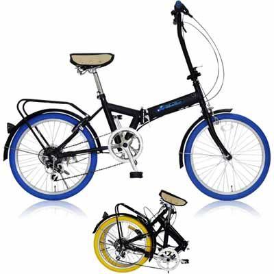 MIWA 20型折りたたみ自転車 FD1B-206 ブルー OTM-20828